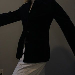 Gap midnight blue, velvet blazer